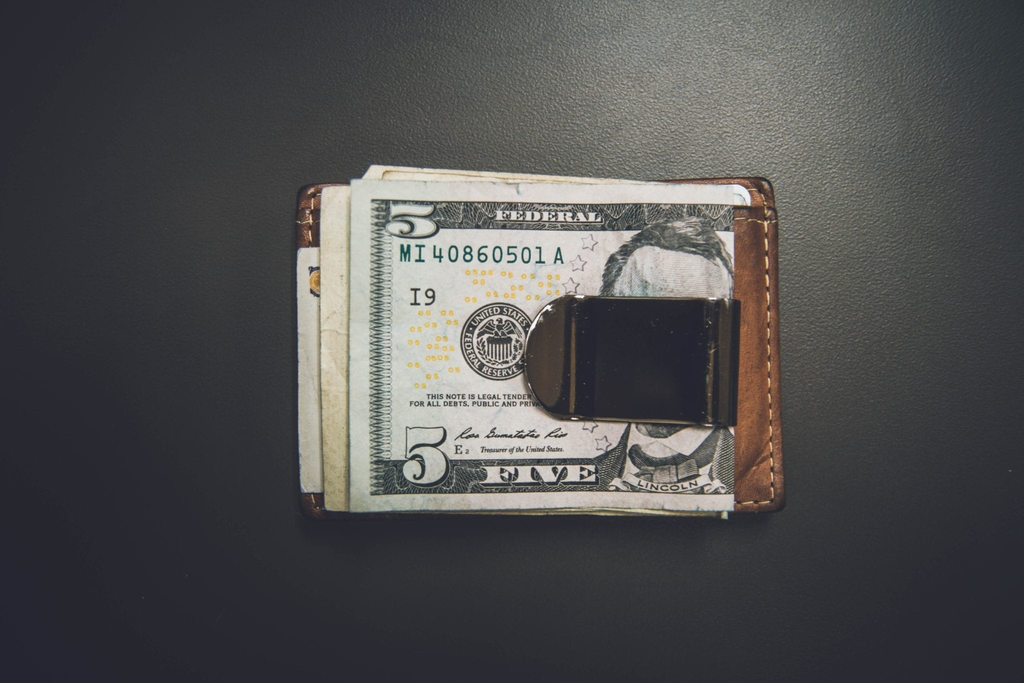 the cost of software testing represented by a money clip