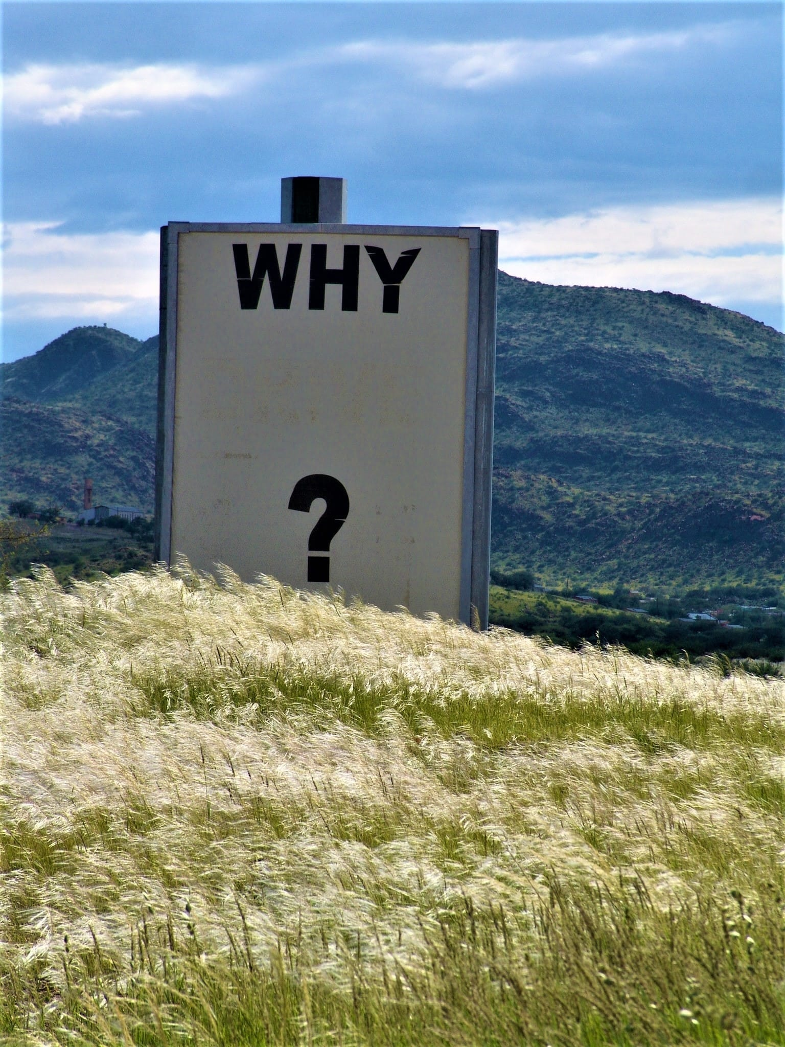 "software testing misconceptions represented by ""why"" sign"